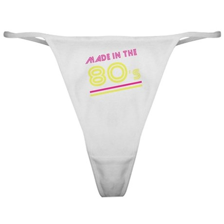 Made in the 80's Classic Thong