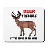 DEER TREMBLE Mousepad