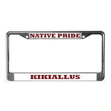 Native Pride Kikiallus License Plate Frame