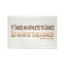 Athlete Artist Dance Rectangle Magnet
