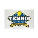 Tennis Is My Life Rectangle Magnet (10 pack)