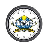 Tennis Is My Life Wall Clock