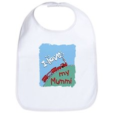 Train-Mummi Bib