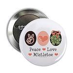 Peace Love Mistletoe Christmas 2.25