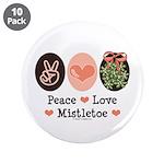 Peace Love Mistletoe Christmas 3.5