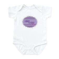 PUrple Papa Infant Bodysuit