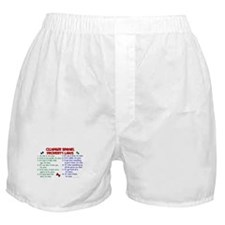 Clumber Spaniel Property Laws 2 Boxer Shorts