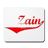Zain Vintage (Red) Mousepad
