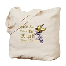 ANGELS WATCHING OVER US Tote Bag