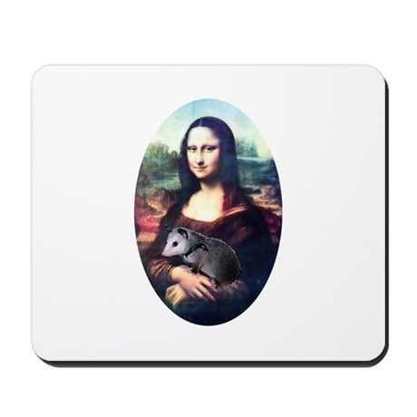 Mona Lisa Possum Mousepad