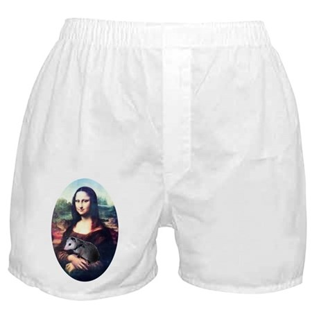 Mona Lisa Possum Boxer Shorts
