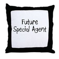 Future Special Agent Throw Pillow