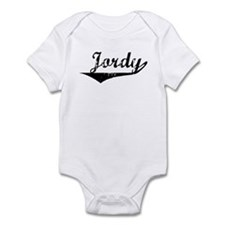 Jordy Vintage (Black) Infant Bodysuit