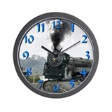 Steam train Wall Clocks
