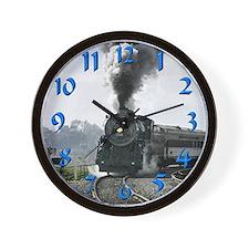 Steam Engine Wall Clock