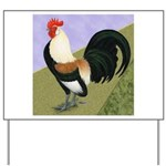 Dutch Rooster Yard Sign