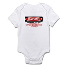 AMERICAN STAFFORDSHIRE TERRIER Infant Bodysuit