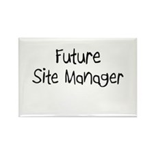 Future Site Manager Rectangle Magnet (10 pack)