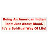 Native American-BS Bumper Bumper Stickers
