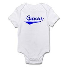 Gaven Vintage (Blue) Infant Bodysuit