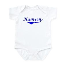 Kamron Vintage (Blue) Infant Bodysuit