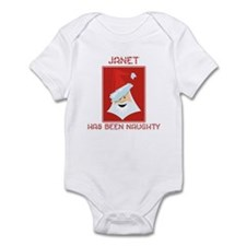JANET has been naughty Infant Bodysuit