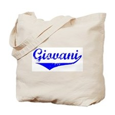 Giovani Vintage (Blue) Tote Bag