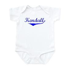 Kendall Vintage (Blue) Infant Bodysuit