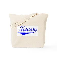 Kevon Vintage (Blue) Tote Bag