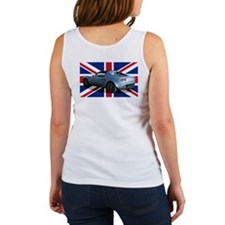 """Polar Blue Elise UK"" Women's Tank Top"