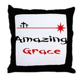 Amazing Wretch Throw Pillow
