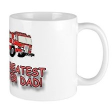 World's Greatest Dad, Firefighter Small Mug