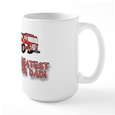 World's Greatest Dad, Firefighter Coffee Mug