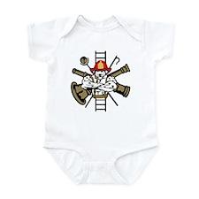Fire Dog Infant Bodysuit