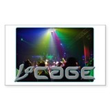 LaCage Dancefloor Rectangle Decal
