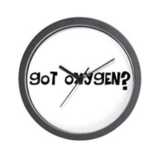 Got Oxygen? Wall Clock