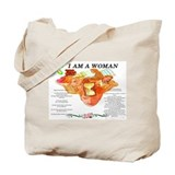 I Am Woman/Retired Teacher Tote Bag