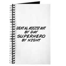 Dental Assistant Superhero Night Journal
