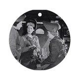 Welders Ornament (Round)