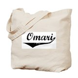 Omari Vintage (Black) Tote Bag
