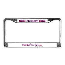 Bike Mommy Bike License Plate Frame