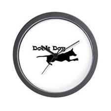 Dock Dog Wall Clock