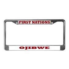 First Nations Ojibwe License Plate Frame