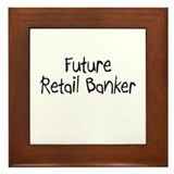 Future Retail Banker Framed Tile