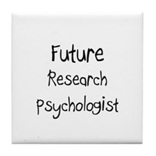Future Research Psychologist Tile Coaster