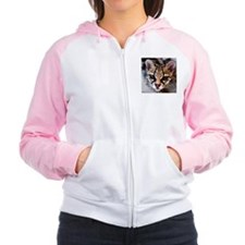 Margay/Black Leopards Women's Raglan Hoodie