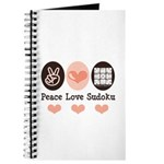 Peace Love Sudoku Journal