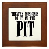 Theatre Musicians Do It in th Framed Tile