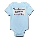 Yes, Directors Know Everything Onesie
