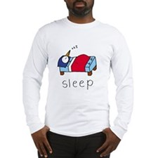 """Sleep"" Long Sleeve T-Shirt"